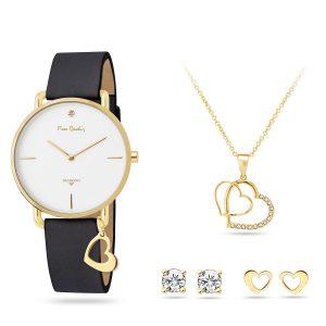 Pierre Cardin PCDX8464L23 Dames Set Horloge, Ketting, Oorbellen
