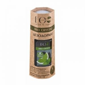 DEO CRYSTAL Lichaamsdeodorant Citroen en Sinaasappel 50ml