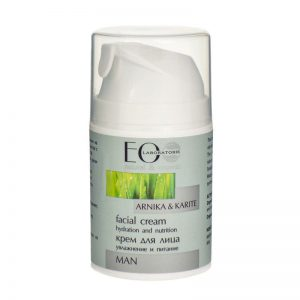 Gezichtscrème voor mannen intensief hydraterend en voedend, Eolab, 50 ml