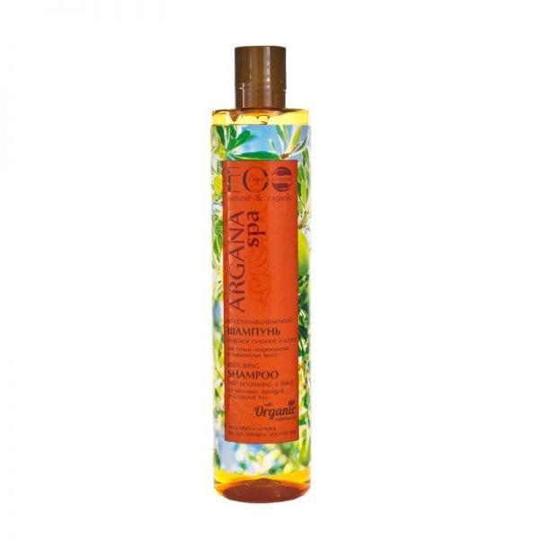 Argan olie shampoo voor gekleurd en beschadigd haar, Eolab, 350 ml