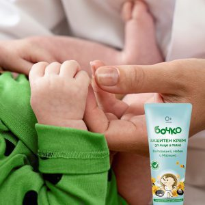Baby, kind en mama Beschermende crème Vitamine E, calendula en olijf 75ml