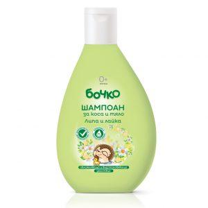 Bochko baby shampoo voor haar en lichaam met Linden en kamille 200ml