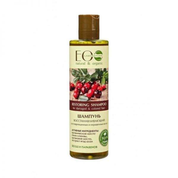 Herstellende shampoo voor gekleurd en beschadigd haar, Eolab, 250 ml