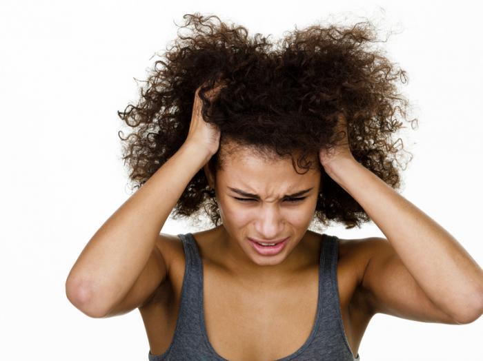 Gevoelige hoofdhuid, waarom?