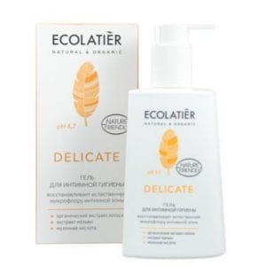 Delicate Intieme Hygiënegel Ecolatier, 250 ml