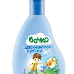 Bochko shampoo en douchegel 2in1 voor kinderen 250ml