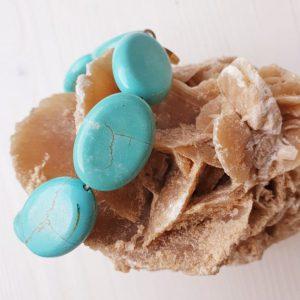 Massive Turquoise armband