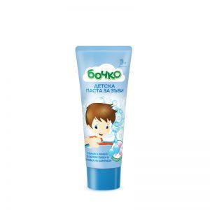 Bochko natuurlijke Kindertandpasta met kauwgom geur 75gr