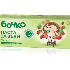 Bochko baby tandpaste met Aardbei 50gr