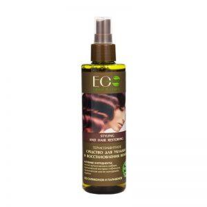 Thermo-actieve spray voor haarstyling en regeneratie, Eolab, 200 ml